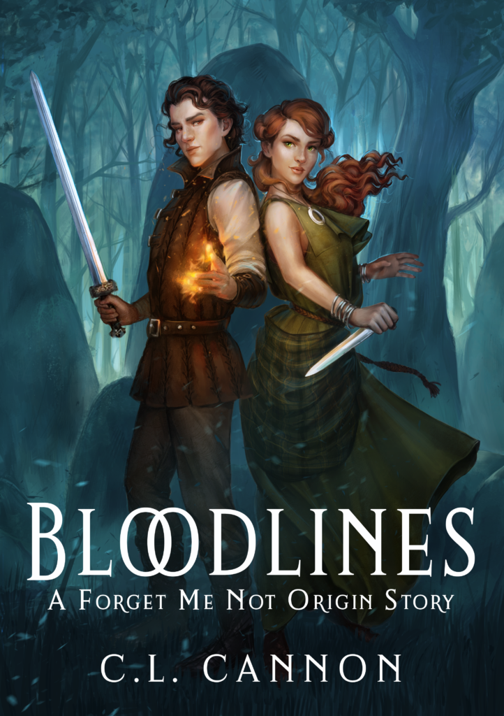 Bloodlines: A Forget Me Not Origin Story by CL Cannon