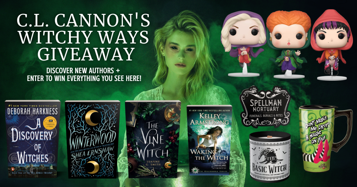C.L. Cannon's Witchy Ways Giveaway