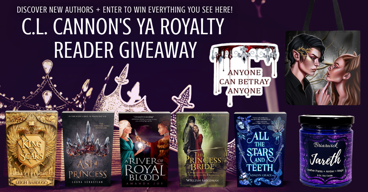 YA Royalty Reader Giveaway