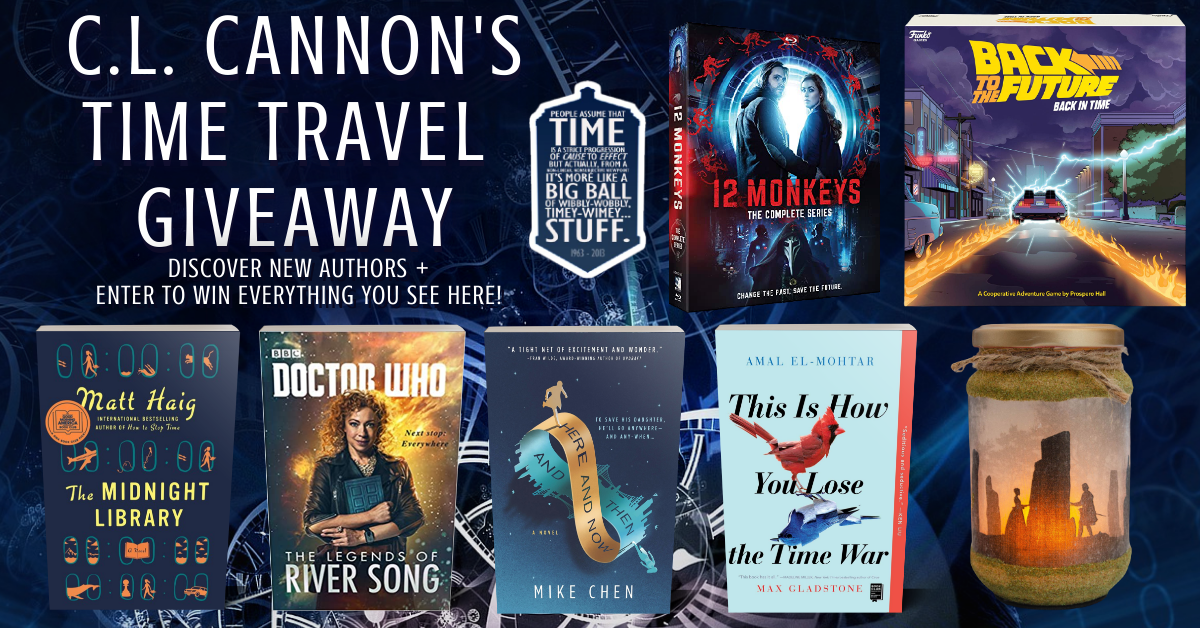 C.L. Cannon's Time Travel Giveaway