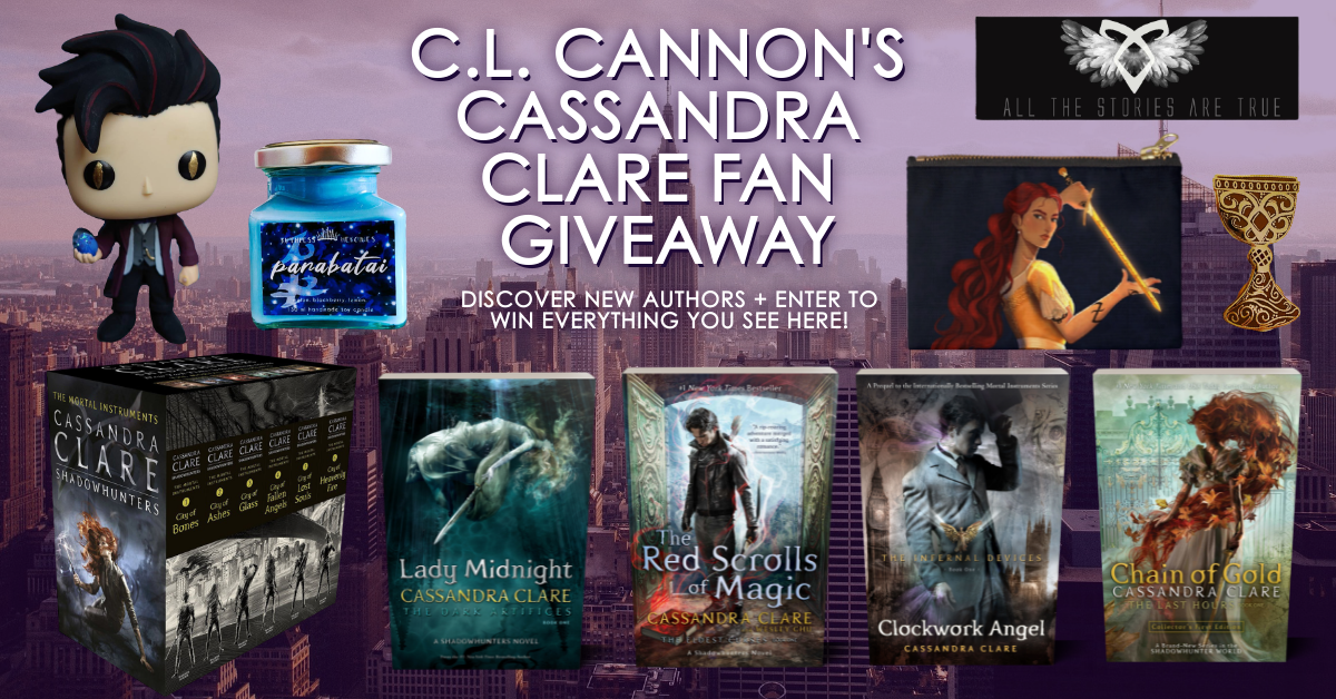 Cassandra Clare Giveaway